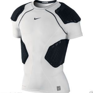 Nike Pro Combat Padded Spandex Compression Shirt